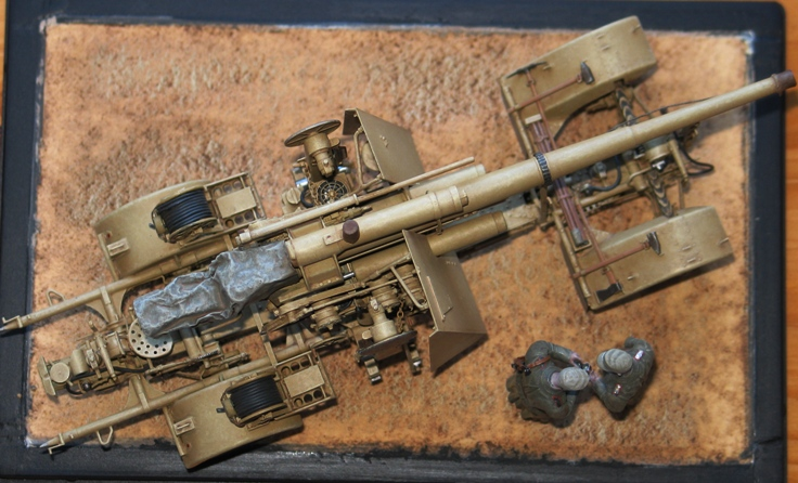 Flak18 88mm  AFV Club 1/35 753641modles125028