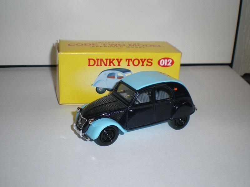 Citroën 2CV - 1957  - Dinky DY 32 - Matchbox Collection. 753898IMGP0081
