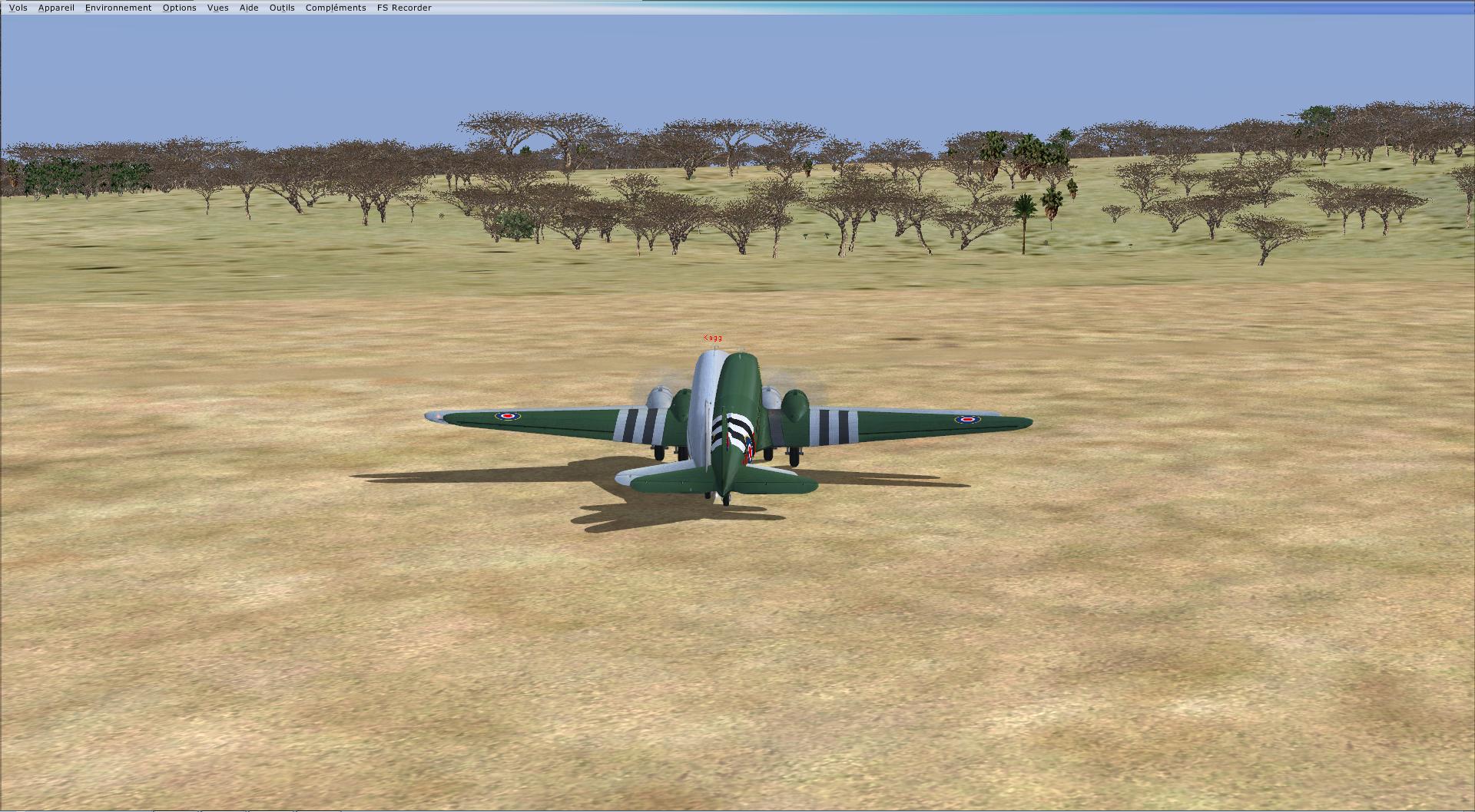 Vol en formation en Afrique (DC3) 7539732013222223534925