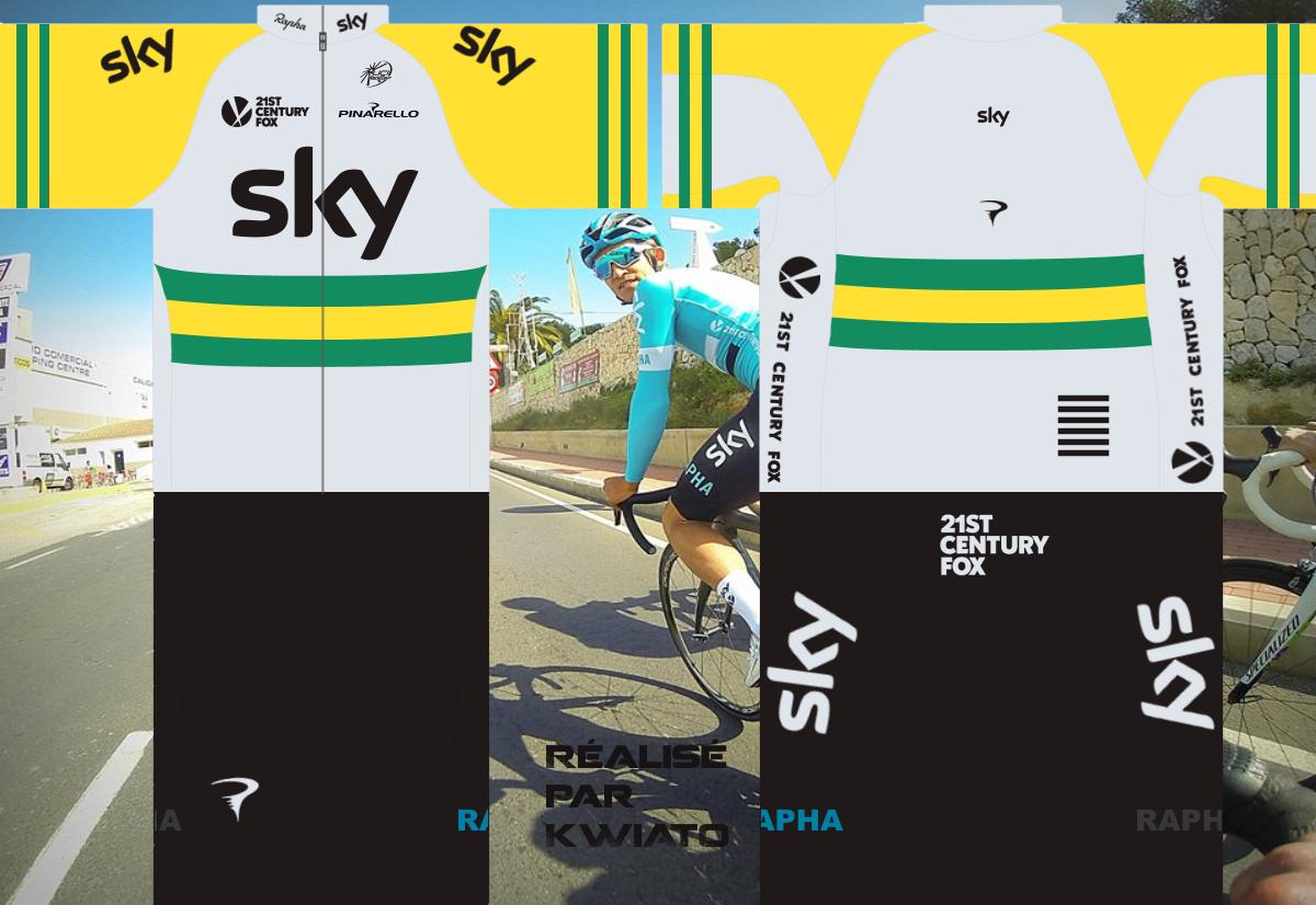 SKY Pro Cycling 754254skymaillotaus