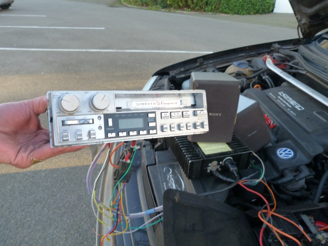 VW T3 Westfalia: double système Pioneer: ODR et Component 755610P1240839
