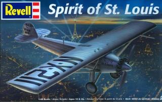 spirit of st louis revell 1/48 756229RevellNYPBOX