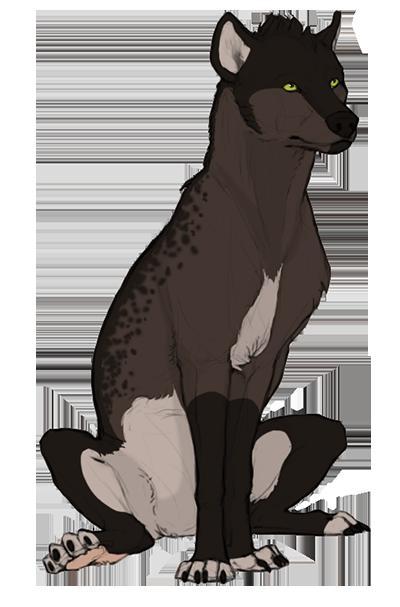 [PRISE] Hyène - Adolescente - Femelle - Anka  756250akodasignn
