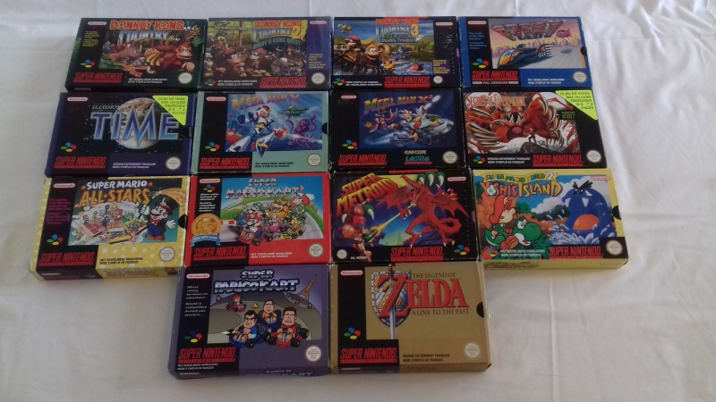 Ma collection 7566002snes