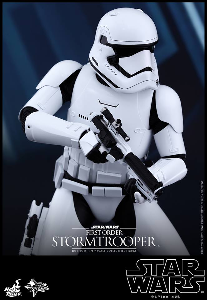HOT TOYS - Star Wars: TFA -  First Order Stormtroopers 756634109