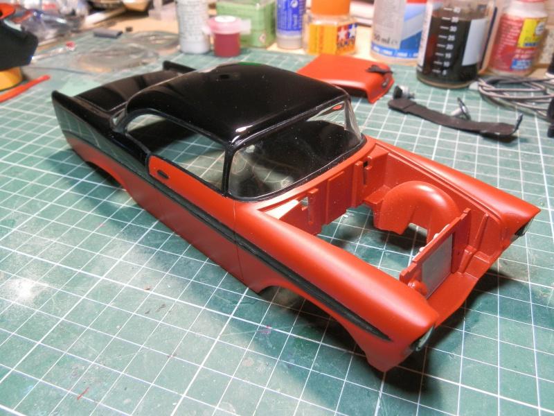 #47 : Chevy bel air 56 custom (TERMINEE) 757174P9295368