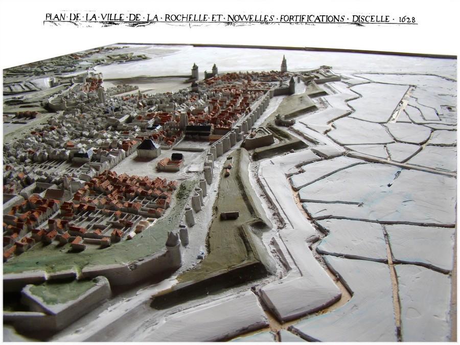 // La Rochelle 1628 // Le plan-relief // 7616172Dec122reduiteencore