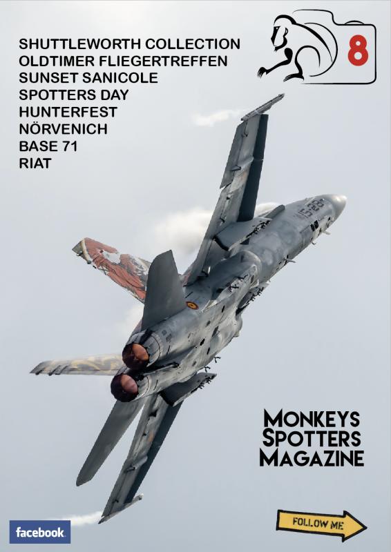 SPOTTERS - Monkeys Spotters Magazine N°8 761633218