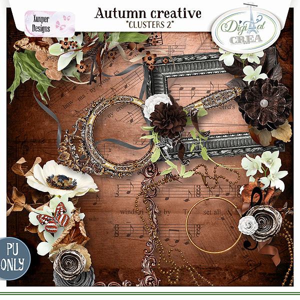 Collection Autumn creative de Xuxper Designs + Promo 763065556
