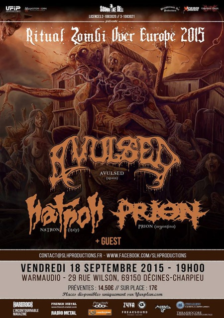 18.09 AVULSED + NATRON + PRION @ Lyon (Warmaudio) 763091108421367707666796968175280936777410628289o