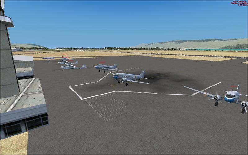 Vol en formation en Afrique (DC3) 7632172013222231416172