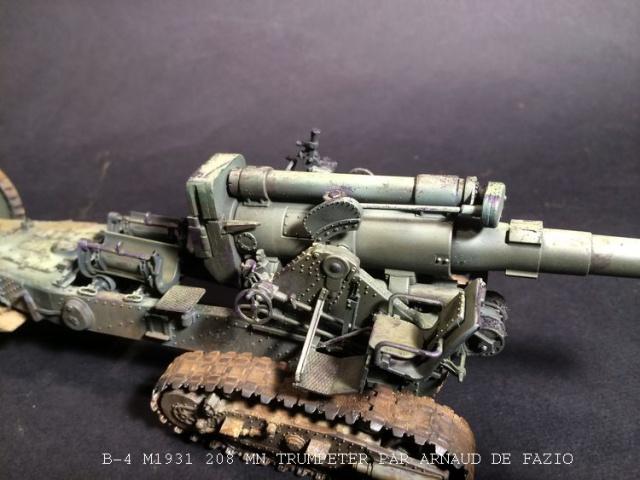 un B-4 M1931 203 mn (le marteau de Staline trumpeter 1/35 763313B41010