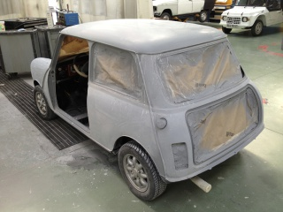 Restauration Mini Austin 1300 Injection 764356IMG4815
