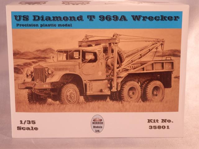 US Diamond T969A wrecker (Mirror Models 1/35) 766942P1110043