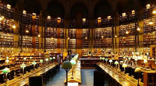 Institut National de l'Histoire de l'Art (Paris) 768849BibliothquenationaledeFranceParissiteRichelieuSalleOvale2lger