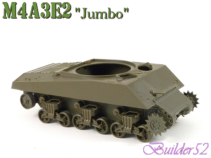 SHERMAN M4A3E2 JUMBO - TASCA 1/35 769110P1050206