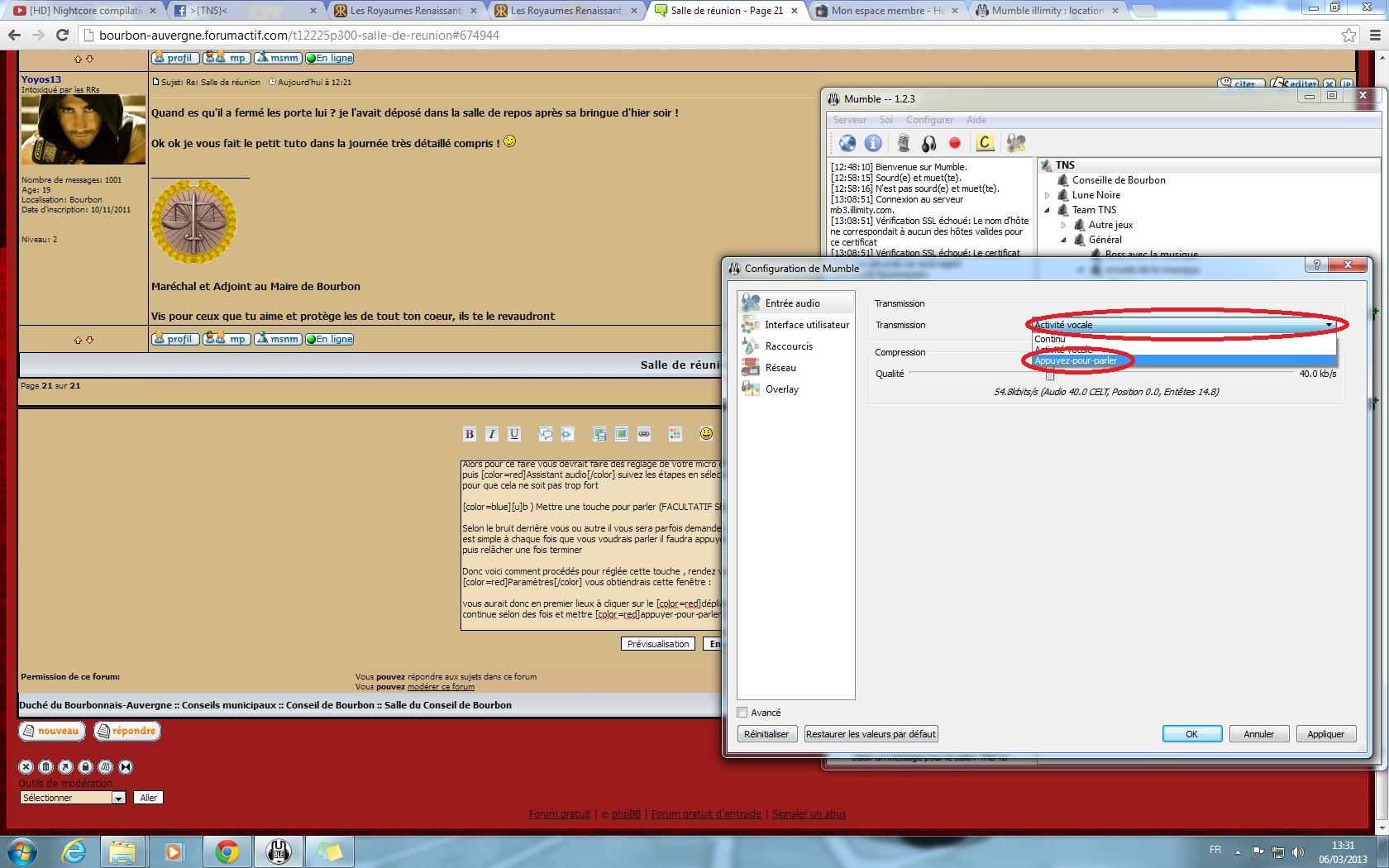 Installer et configurer mumble 769265installationM8