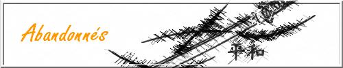 Shinzô Reikon Rox - Une vie a tant de voies possibles 769480Abandonns