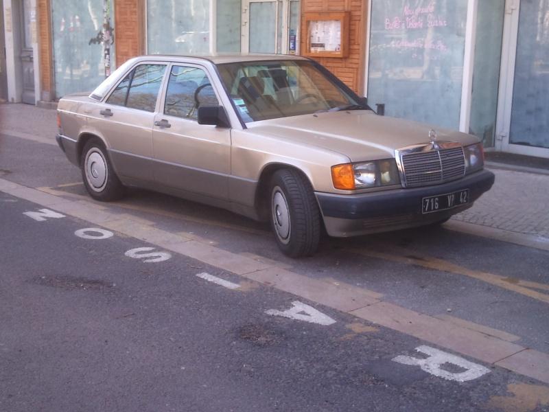 Mercedes 190 1.8 BVA, mon nouveau dailly - Page 5 770437DSC2300