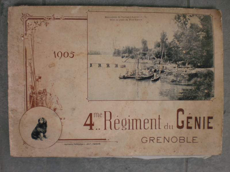 Livret photos 1905 4ème Régiment de Génie Grenoble (DERNIÈRE BAISSE DE PRIX)-ESC 3 772134P5132056