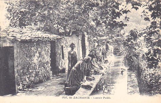 """Cartes Postales Anciennes """"St Zacharie Var"""" 773333lelavoir"""