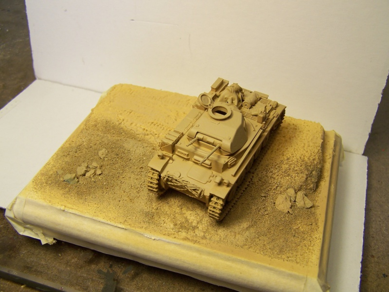 Panzer 2 auf F Africa Korps 1941  (Terminé) 7743271005378