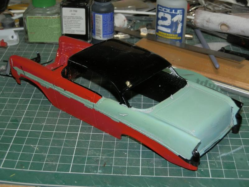 #47 : Chevy bel air 56 custom (TERMINEE) 775096P8265298