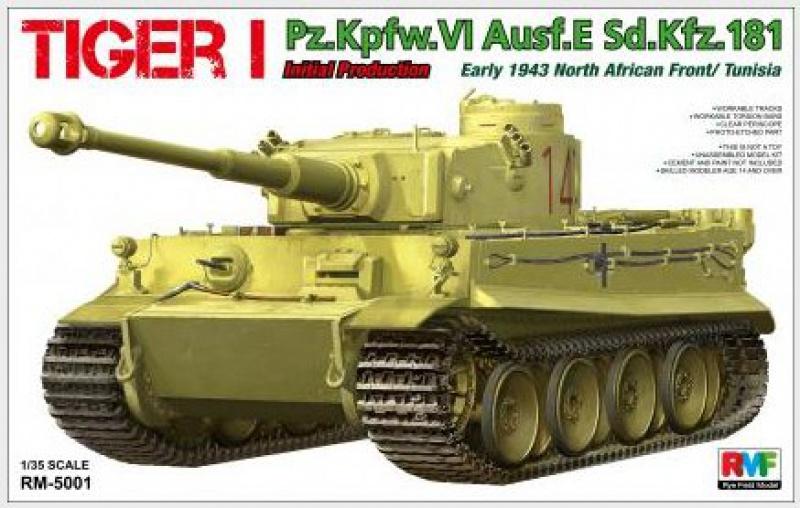tiger - Tiger I 142 Tunisie Rye Field Model 77623033I1