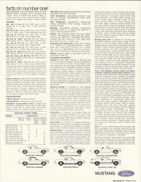 mustang 1970 MACH 1  au 1/24 de chez revell  776575publicitermustangmach119702