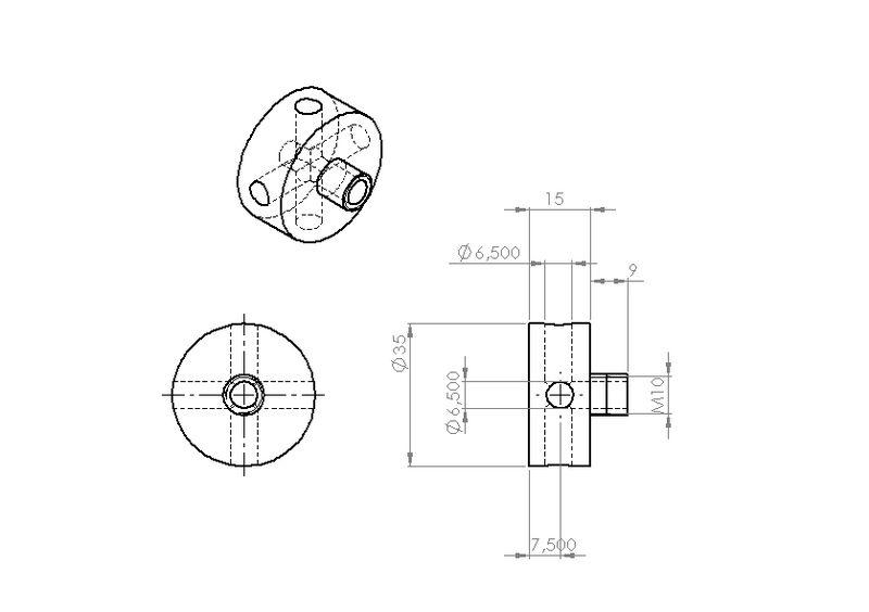 """Fabrication d'un """"bouchon"""" pour mon bac à copeaux pour récupérer le fuide de coupe 777436siphonarosage2"""