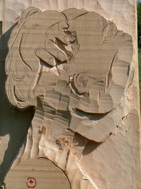 JJ - bas relief d'un nu (2013) 777613050