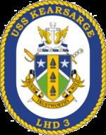 USS KEARSARGE LHD-3 1/700 REVELL 777920150pxUSSKearsargeLHD3Crest