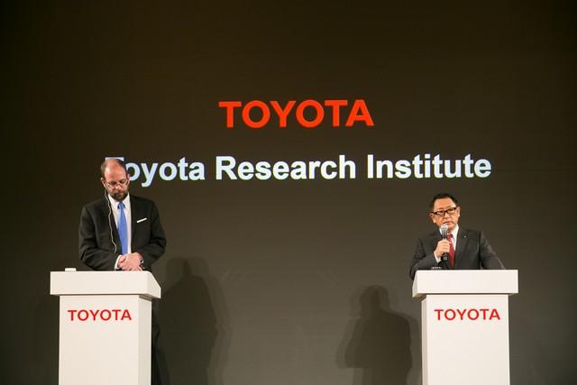 Toyota va créer un institut de recherche et développement dédié à l'intelligence artificielle 777989201511060118