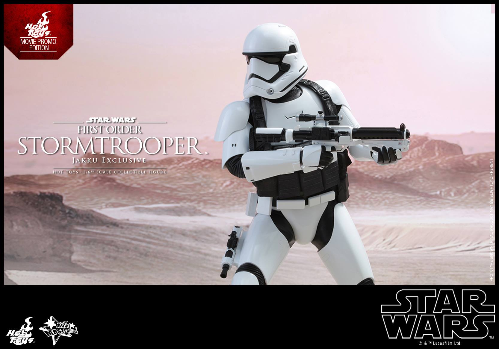 HOT TOYS - Star Wars: TFA - First Order Stormtrooper Jakku  778939104