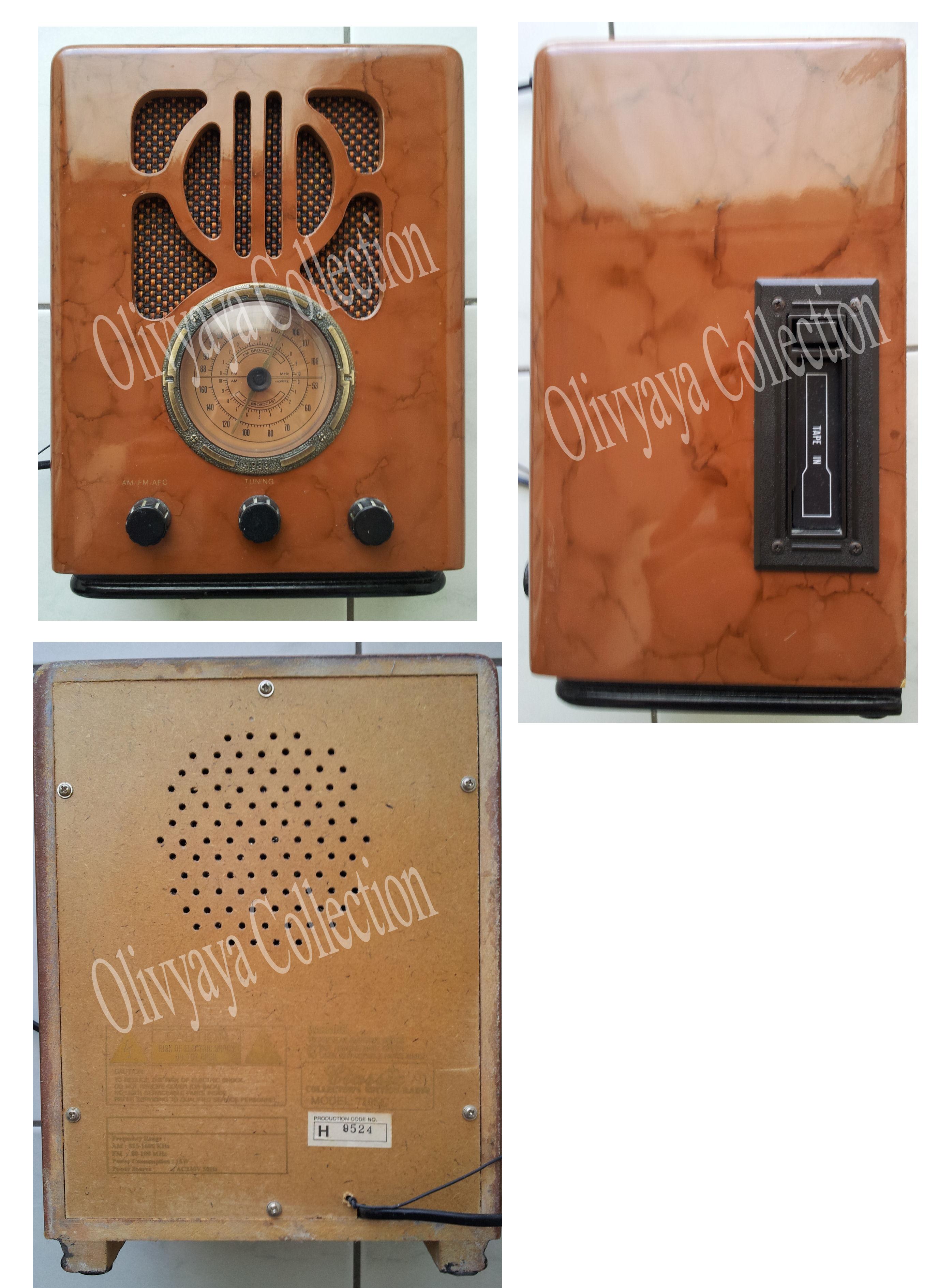 Radio années 30 /  bakélite / réédition 779811radio