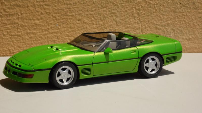 Corvette Callaway speedster Monogram. 781088SAM7880