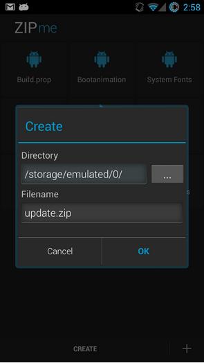 Restaurer vos données avec ZIPme 781221zip05