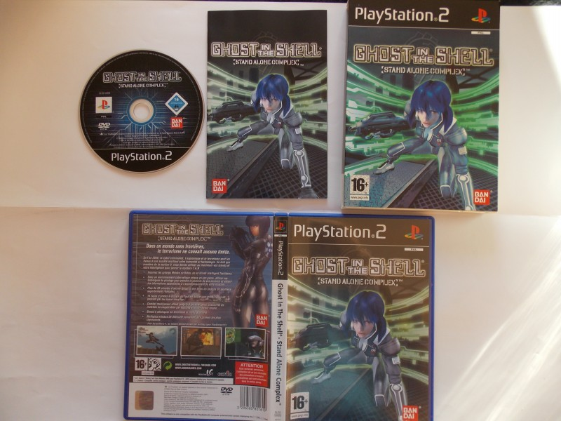 Ghost in the Shell : Stand Alone Complex 781613Playstation2GhostintheShellstandaloneComplexcollector