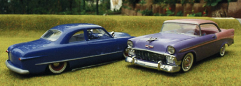 #47 : Chevy bel air 56 custom (TERMINEE) 781853261