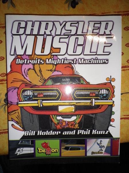 livres 2 * us car ,truck ,moto et  cinema 783392RedimensionnementdeChrylserMuscle1