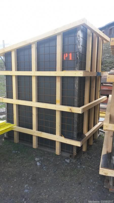 Construction du télésiège débrayable 6 places (TSD6) Roc de Tougne 78447920170603110219