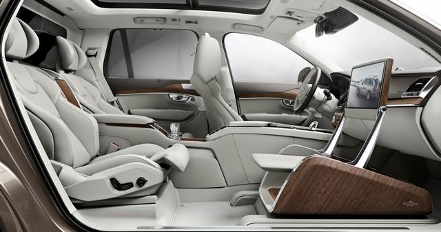 Volvo Cars a dévoilé Sa Nouvelle Lounge Console à Shanghai 785399161571VolvoXC90ExcellenceLoungeConsole