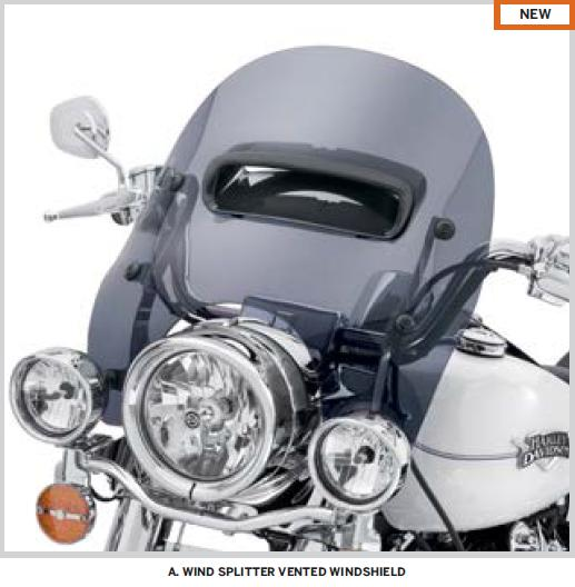 Pare-brise style Road King CVO 785446741