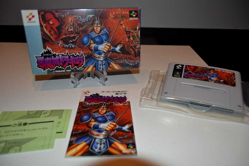 La collec à Goten62 ---castlevania---PC Engine--- 785544DSC0071
