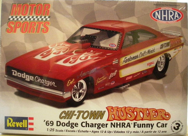 Chi-Town Hustler Dodge Charger Funny Car 786229chitown001