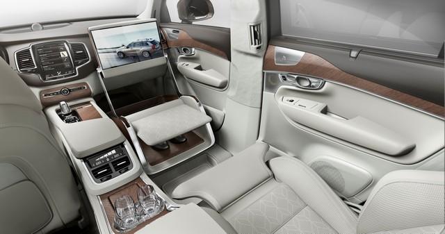 Volvo Cars a dévoilé Sa Nouvelle Lounge Console à Shanghai 787069161566VolvoXC90ExcellenceLoungeConsole