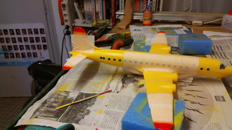 DOUGLAS DC-6B SECURITE CIVILE maquette HELLER au 1/72° - Page 2 78745620171212104335