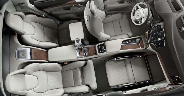 Volvo Cars a dévoilé Sa Nouvelle Lounge Console à Shanghai 790163161575VolvoXC90ExcellenceLoungeConsole