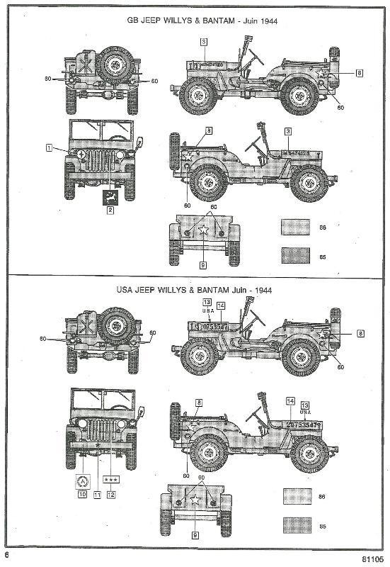 jeep indochine - Jeep Willys +Trailer Heller 1/35 790717JeepHeller135006
