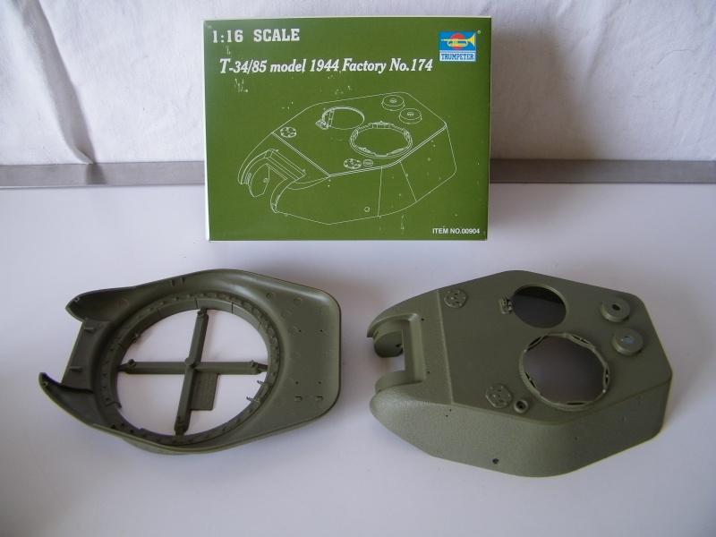 T34/85 modele 1944 Trumpeter 1/16e 7909011003184